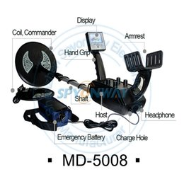 Wholesale MD5008 underground metal detector tester meters gold treasure revealer instrument zp b