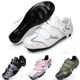 Wholesale 2016 NEWMAILER men TPR Men Athletic Cycling Shoes Mountain Road Bicycle Shoes Professional Bike Sneakers MTB Bicycle Auto Lock Shoes