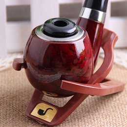 Wholesale New Tobacco Smoking Pipe Durable Classical Cigar Pipe with Rubber ring best deal