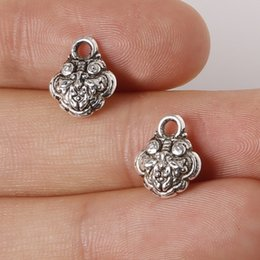 Free shipping New 11pcs 10x12mm Zinc Alloy Antique Silver Lucky Lock DIY Charms Pendants jewelry making DIY