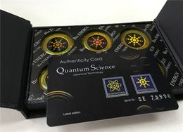 Wholesale Quantum Shield Anti Radiation Science Energy Sticker For Cell Phone Post
