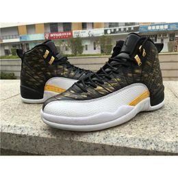 Wholesale 2017 Jordan Sports Air Retro Wings Mens Black White Gold Jordans Retros s Men Basketball Shoes Wings Size AJ