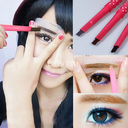 Wholesale 5 style automatic eyebrow pencils Waterproof Longlasting Eye Brow Liner Pen Powder Shapper brow eye liner Makeup Beauty Tool