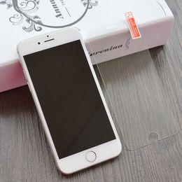 Écrans 4s à vendre-Pour iphone 6 4.7 6Plus 2.5D 9H Film protecteur d'écran Temperedsoft Premium Protecteur antidéflagrant pour iPhone6 4 4S 5 5S