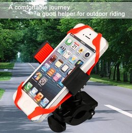 Wholesale 360 Degree silicone spider web to fix QuakeProof Bicycle Bike Handlebar Cell Phone Mount Holder For iPhone Samsung S4 GPS MP4