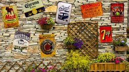 Wholesale 2016 New Metal Tin signs quot Corona UP quot Beer signs Restaurant Bar Garage Store Decor Car Craft Wall Painting