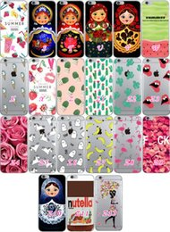 Wholesale For iphone S Plus S SE Galaxy S7 Edge S6 Edge Plus Rose Girl Smile Expression Soft TPU Case Flower high heeled shoes Sunflower Skin