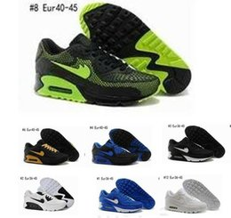Wholesale 2016 Online Cheap Running Shoes Men Max90 High Quality New Maxes Sneakers Cheap Men s Sports Shoes