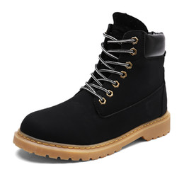 2017 New Men Winter Boots 2016 new PU Leather men boots Hot Sell Plus cotton snow boots Warm Winter Lover shoes