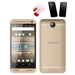 Wholesale VKWORLD VK800X G Cell Phone Inch IPS Screen G RAM G ROM MTK6580 Quad Core Android5 Unlocked Phones Free Case