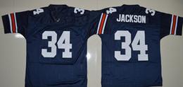 Wholesale 34 Bo Jackson Jeremy Johnson DYER SULLIVAN Philip Lutzenkirchen Nick Marshall Auburn Tigers College Football Jerseys