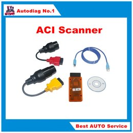 Wholesale ACI Scanner with FORBMW and MB AdapterACI Scanner Auto Communication Interface Supports All Enhanced Options Multi languages