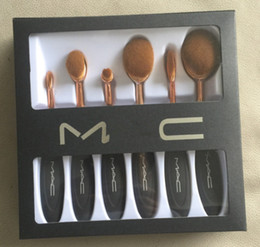 Wholesale HOT MA C Makeup Brush Cosmetic Foundation BB Cream Powder Blush pieces Makeup Tools