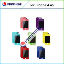 Écrans 4s en Ligne-Bonne qualité des prix de gros Mix couleur pour iPhone 4 4S CDMA écran LCD écran tactile de remplacement Assemblée complète Digitizer