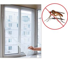 Wholesale Insect Fly Mosquito Net Window Screens Net DIY Magic Mesh Curtains Shades Protector Against Flyscreen by DHL