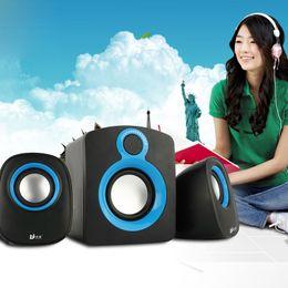 Wholesale Beautiful Audio computer speaker portable desktop laptop mini multimedia subwoofer usb mini speaker many in stock