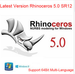 Wholesale Latest Version Rhinoceros V5 SR12 Rhino For Win Bit Support For Multi Language Full Function Fast Delivery