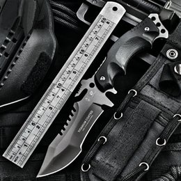 Wholesale HX OUTDOORS army Survival knife outdoor tools high hardness small straight knives essential tool for self defense Favorites High quality