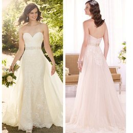Wholesale High end foreign trade export of cultivate one s morality show thin spring fashion new Australian designer wedding dress