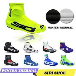 Wholesale 2016 New Cycling Shoes Cover Winter Thermal Fleece MTB Shoe Cover Cycling Shoes Cover Bicycle Accessorie Over Shoes different colours