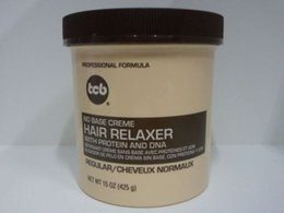 Wholesale NO BASE CREME HAIR RELAXER WITH PROTEIN AND DNA REGULAR OZ
