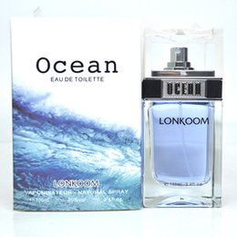 Wholesale Ocean EAU DE TOILETTE Lonkoom Vaporisateur Natural Spray ml Man Perfume Cologne Fragrance Man Body Spray