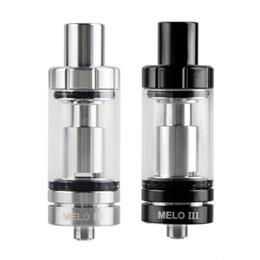 Authentic Melo 3 Melo III Mini 4ml 2ml Atomizer Top Filling Airflow Control Tank For 510 Thread Box Mod