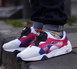 Descuento hombres zapatos nuevos estilos 2016 nuevo estilo de alta calidad del disco BLAZE OG OVNI hebilla giratoria retro zapatos de los hombres de inyección de tinta Casu zapatos casuales de la moda unisex únicos 36-44 envío rápido
