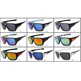 Fashion FOX-THE REMIT Sunglasses Dazzle Colour FOX Conjoined Lens Big Frame Sunglasses FOX02 Outdoor Sports Sunglasses 20PCS