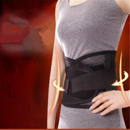 Wholesale Breathable Double Steels Plate Waist Elastic Belt Lumbar Back Brace Support Adjustable Helping to Relax Muscles
