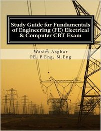 2016 Study guide for fundamentals of engineering(FE) electrical & computer Exam 978-1517777920
