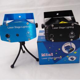 Promotion des vacances mini-lumières Location Vente Bleu Laser Mini Stage éclairage 150mW Mini GreenRed LED laser DJ Party scène Black Light Disco Dance lampadaires