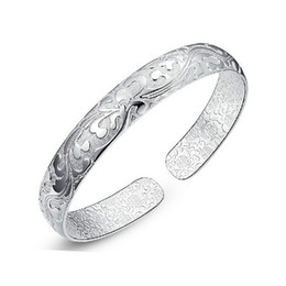 925 Sterling Silver Indian Bangles New Fashion luxury brand bracelet for Women Bangle High quality Jewelry Factory Price