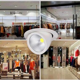 15W 25W 35W COB Led Dimmable Downlight Recessed Ceiling Lights 120 Degree Beam Angle Adjustab LED Down light 3 years warranty