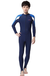 Wholesale 2015 Men Women Lycra Stinger Suit with Cap Full Diving Suit Dive Skins Jump Suit Wetsuit Swimwear Long Sleeve