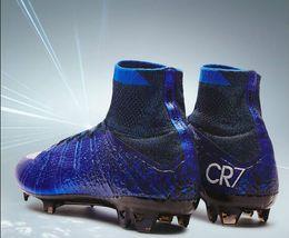 Wholesale 2016 N k Mercurial Superfly CR7 FG Soccer For Men And Women Kids Shoes Mercuria Superfly Original N k Cleats Botts Size EUR35