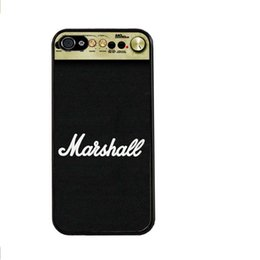Wholesale Marshall Amplification Amp Music Sound Drums Bongos Plastic Hard Cover Case for iphone s s c plus