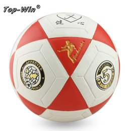 Wholesale High Quality Standard Sports Soccer Ball Training Balls Football Official Size All Weather training ball
