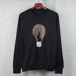 Wholesale 2016 Autumn and winter brand men Hoodies Casual sports Long sleeve Set auger light bulb sweatshirt men s pullover coat jacket outwear Tops