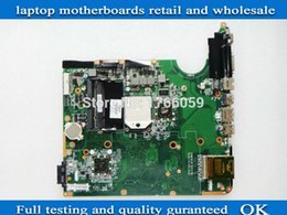 Wholesale 571186 for HP pavilion DV6 DV6 laptop motherboard with amd chipset full tested ok and guaranteed