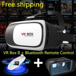 2e Date VR Box lunettes 3D Upgrade Virtual Reality contrôle Gen Lunettes 3D d'origine Jeu Vidéo Glasses + Bluetooth à distance Hot à partir de nouveaux jeux vidéo fabricateur
