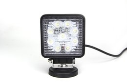 4 inch 27W 2150LM off road led light, led work light for trucks, led flood work light