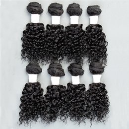 Wholesale Human Hair Wefts Kinky Curly Brazilian Hair Bundles Unprocessed Cheap Brazilian Kinky Curly Hair Inch B Factory Price