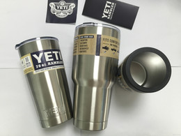 Wholesale 2016 Hot Sale cheap Rambler Tumbler oz oz oz YETI Cups Cars Beer Mug Large Capacity Mug Tumblerful