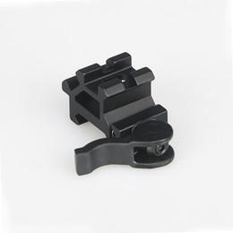 Tactical Hunting rifle scope mount optics sight laser flashlight mount 20mm fits any picatinny rail Free Shipping