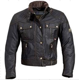 2017 chaquetas de los hombres de cera La nave libre MOJAVE BROOKLANDS los hombres de la chaqueta de la motocicleta de la chaqueta del mcqueen de steve enceraron la chaqueta impermeable barato chaquetas de los hombres de cera
