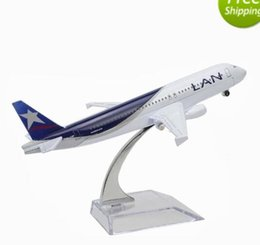 Modelo de avión Modelos de avión de metal Chile LAN Airlines 16cm Aairbus Machine Airways Aircraft desde máquina cepilladora proveedores