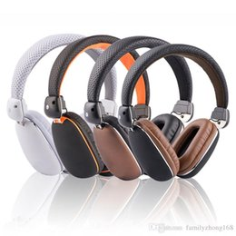 Wholesale EP10 MM wired stereo noise cancel the ing headphones with soft leather ear cup built in mic hands free for Mobile phone Y EJ