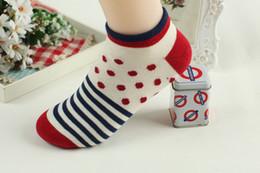 Wholesale Socks Hosiery Socks Manufacturers Fashion Cute Bote Socks Women s Underwear Color Socks Fresh Dots Cotton Socks
