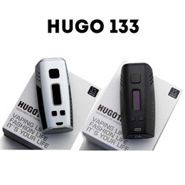 Wholesale Véritable HUGO TC Mod HUGO133 HUGO Vapor E Cigarettes W Box Mod intelligent Vaporisateur écran OLED double Vape Mods
